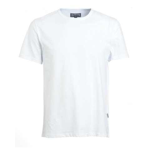 T Shirt White Vilebrequin T Shirt White Plain Tribord