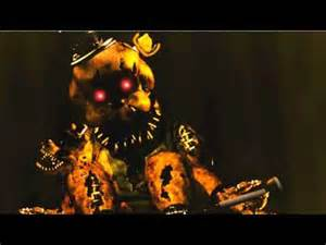 Nightmare golden freddy sings quot just gold quot song youtube