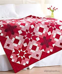 ruby is stunning in this quilt quilting digest