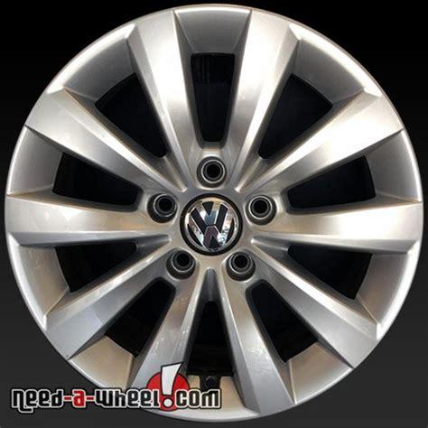 Volkswagen Wheels Oem 16 quot volkswagen vw passat wheels oem 2012 2015 silver rims