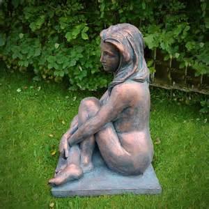 sitting garden statue garden sculptures