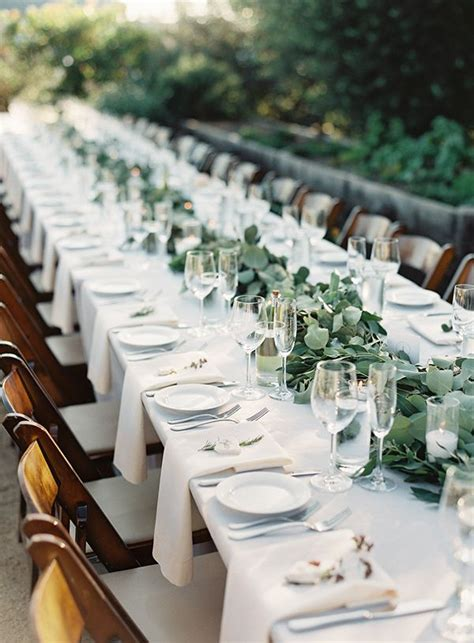 wedding table best 25 wedding table settings ideas on