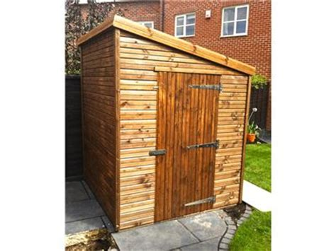 6x6 Wood Shed Garden Sheds Free Fitting And Delivery Easyshed Co Uk