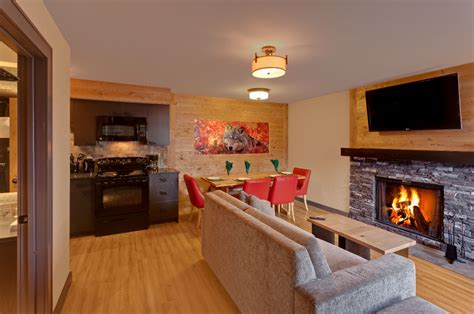 two bedroom wolf condo banff rocky mountain resort