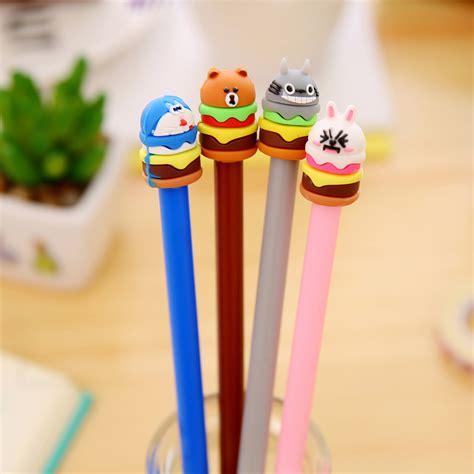 Sale Pulpen Gel Brown Cony 0 5mm buy wholesale bunny pen from china bunny pen wholesalers aliexpress
