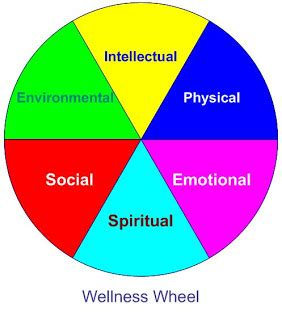 wellness wheel template finishing it fitness wellness wheel