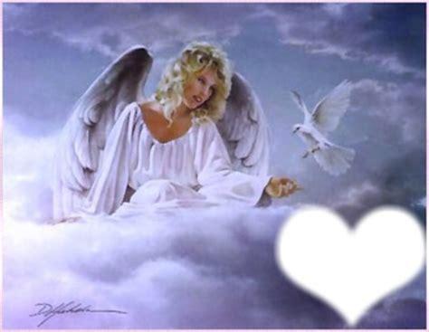 La Colombe Gift Card - montage photo ange colombe et coeur pixiz