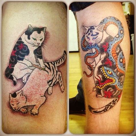 tattoo cat japanese 17 best images about tattoo inspiration on pinterest