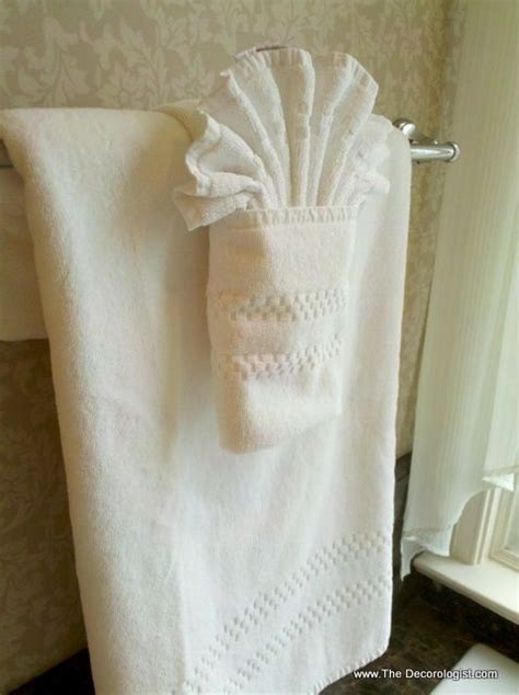 bathroom towel folding ideas best 25 folding bath towels ideas on folding