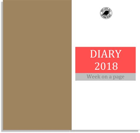 A Place 2018 Free My All In One Place Free Midori Tn Calendar Diary Inserts For 2018 Part 1 Size