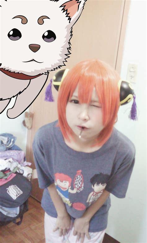 Gintama Kagura Wig kagura gintama wig trial by ohmygumiho on deviantart