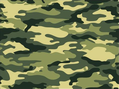Army Camo by A4 Army Green Camouflage Print Icing Sheet Cake Topper