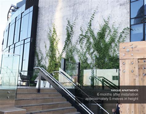 pre grown green facade parque apartments fytogreen