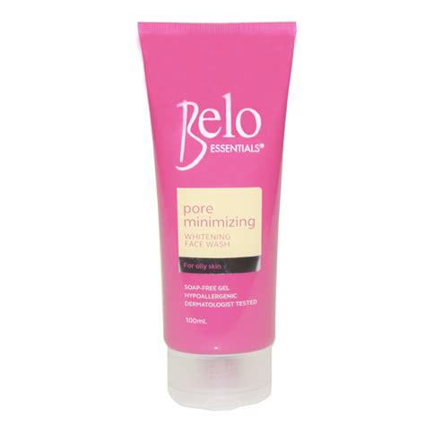 belo essentials pore minimizing whitening wash 100ml