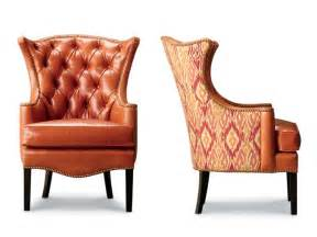 1231 18 tufted wing chair leathercraft furniture