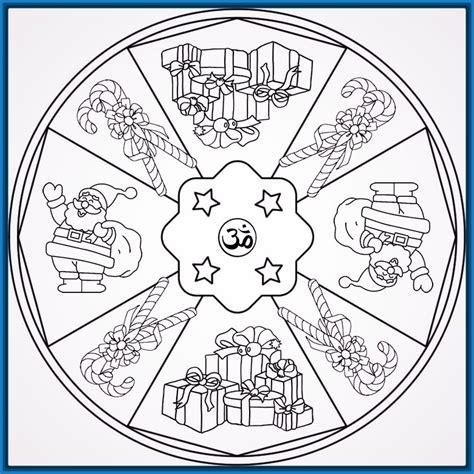dibujos de navidad mandalas para colorear mandalas para imprimir y colorear de navidad archivos