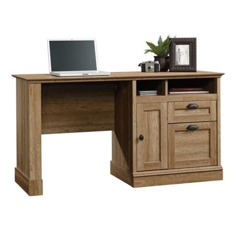 Oak Desks For Home Office Computer Desk Home Office Workstation Table In Scribed Oak Transitional Ebay