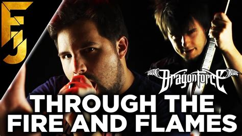 dragonforce through the fire and flames long version april fools 2017 quot through the fire and flames