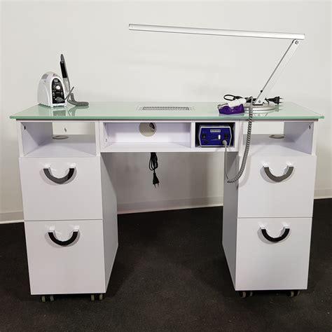 tavolo per manicure tavolo manicure con aspiratore per centro estetico estetista