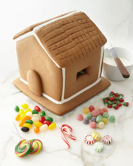 pre made gingerbread houses to buy dylan s candy bar pre assembled gingerbread house kit