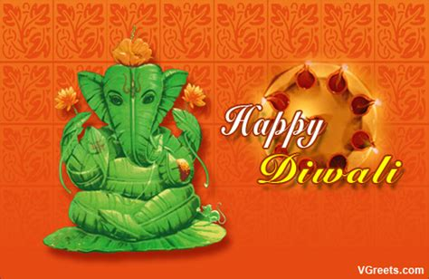 diwali ganesh aarti  virtual aarti ecards greeting cards
