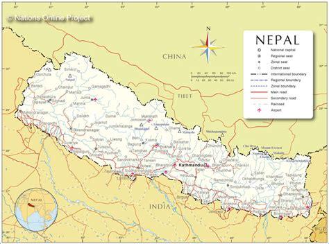 nepal on map nepal participatory local democracy