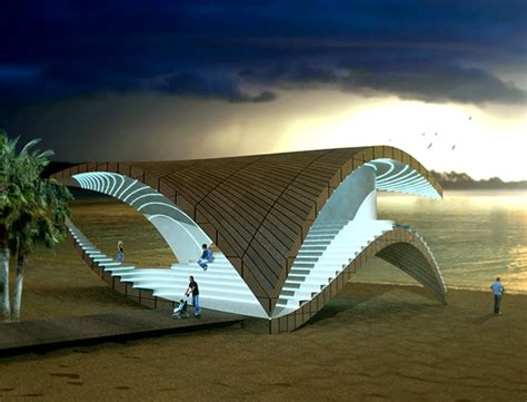 pavilion concept concept architecture on behance