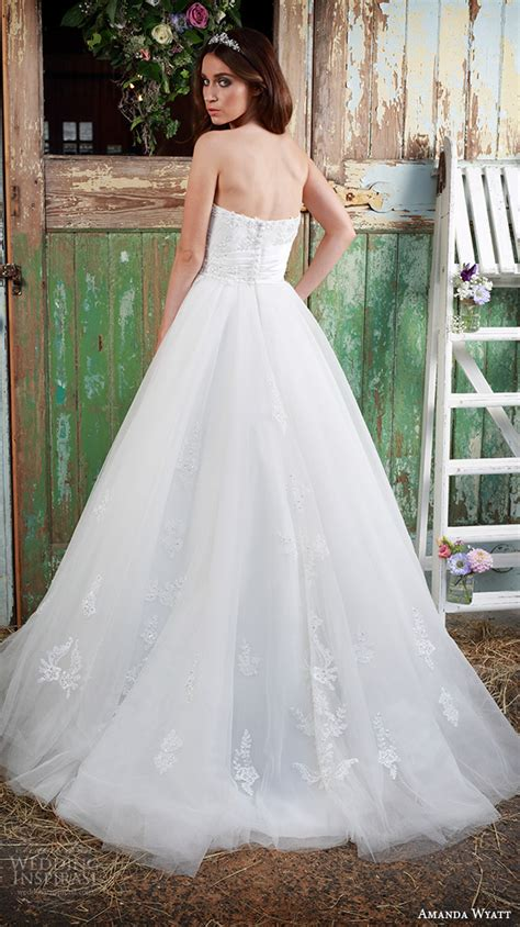 amanda cbell wedding dresses amanda wyatt 2016 wedding dresses promises of