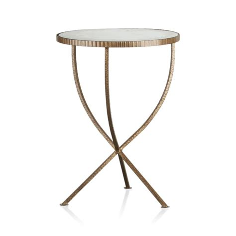 Crate And Barrel Side Table Jules Small Accent Table Crate And Barrel