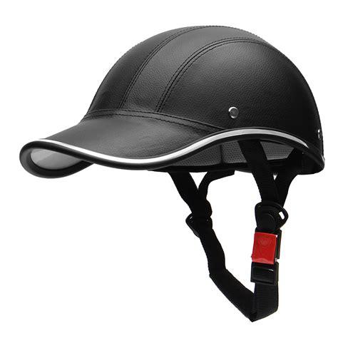 Mofa Helm by Half Helmet Baseball Cap Style Safety Hat Open