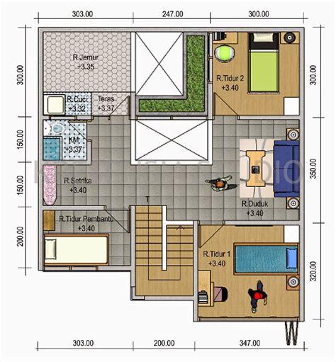 contoh denah rumah minimalis design rumah minimalis