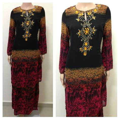 Abaya Emirat Abaya Bordir Eksklusif Abaya Free Pashmina baju kurung 2013 product tags buttonmybuttons by cenderakasih boutique baju kurung moden rm90