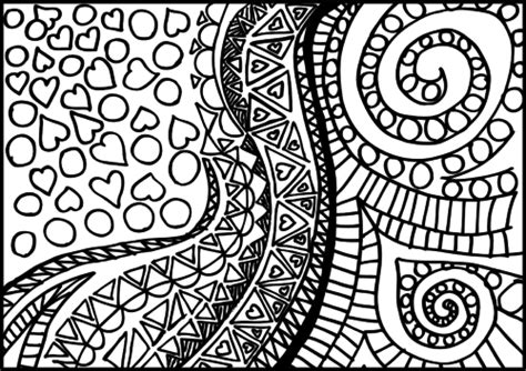 doodle coloring page intricate designs 2