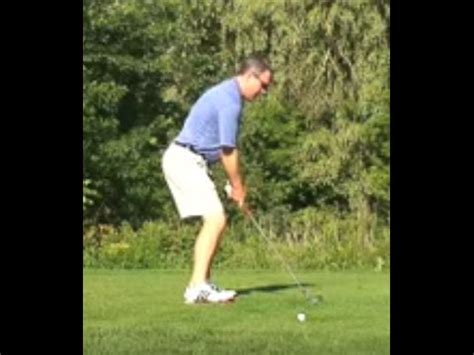shawn clements golf swing posture and head down from top 10 youtube teacher shawn