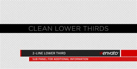 after effects lower thirds templates awesome lower thirds images