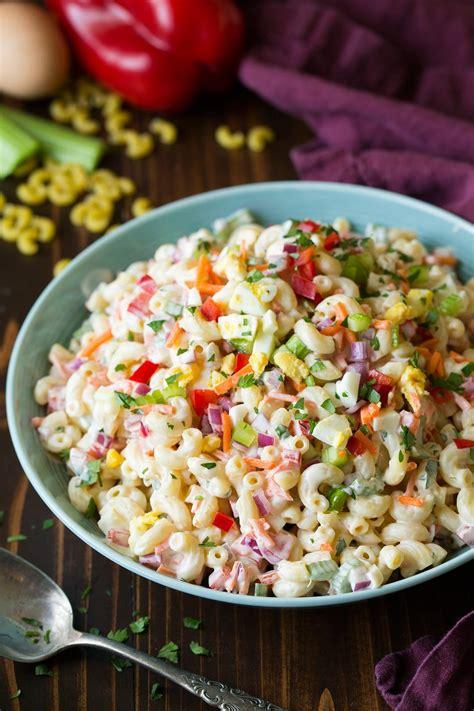 Macaroni Salad classic macaroni salad cooking classy