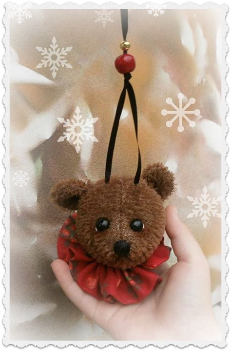teddy ornaments how to make a teddy ornament class teddy
