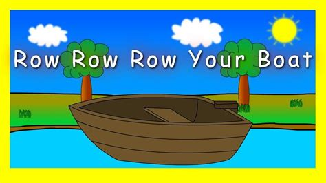 row your boat copyright row row row your boat nursery rhymes instrumental