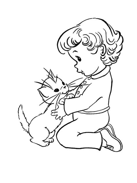 coloriage de chaton a imprimer az coloriage coloriage chaton et filette chats