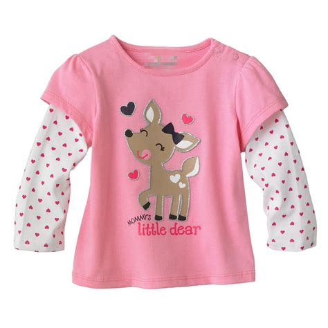 toddler shirts baby toddler clothes pink sleeve 100