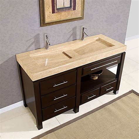 vanity faucets faucet trough sink vanity