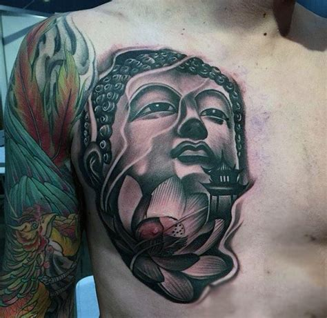 buddha head tattoo designs 100 buddhist tattoos for buddhism design ideas