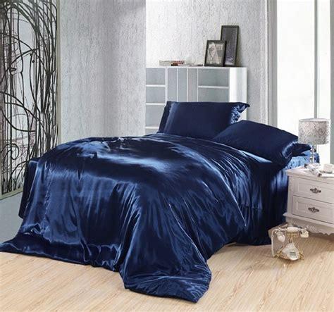 Brand Bed Cover Set California King 180x200 No 1 Motif Verena aliexpress buy blue bedding set silk satin