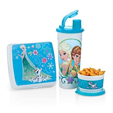 tupperware disney frozen fever lunch set 24 get this