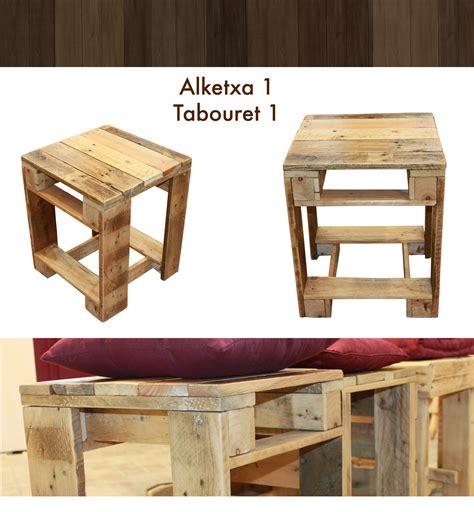 Tabouret De Bar En Bois De Palette by Petit Tabouret En Bois De Palette Les Meubles En Palette