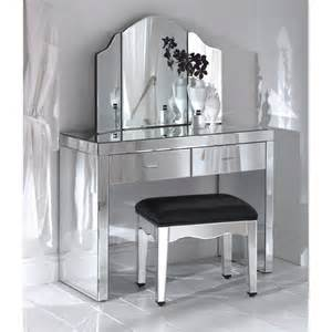 furniture dressing table with mirror in bedroom home