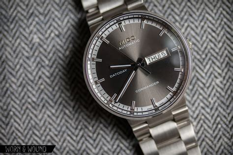 Mido Commander Automatic mido commander ii review worn wound