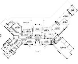 large single story house plans keswick 6774 5 bedrooms and 5 baths the house designers