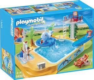 playmobil schwimmbad 5433 playmobil erlebnisbad mit sprudel wal 5433 ab 27 99