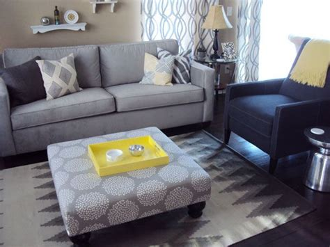 Grey And Yellow And Blue Living Room Living Room Beige Khaki Walls Grey Blue Furniture